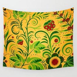 Ornament folk Wall Tapestry