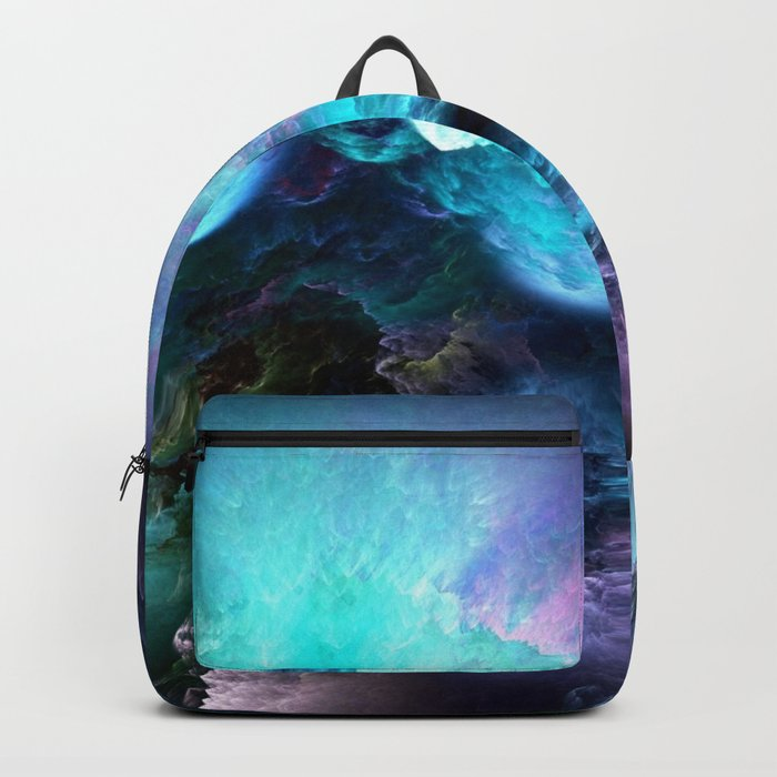 colorful clouds Backpack