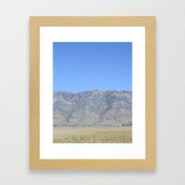 Mountain Colors Framed Art Print