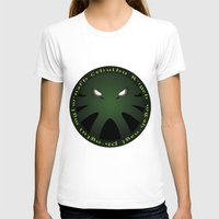 cthulu T-shirts featuring Cthulu Roundel by Hans Mills