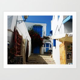 Town of artists  Art Print