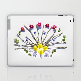 Spring flowers and branches III Laptop & iPad Skin