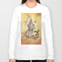 religious Long Sleeve T-shirts featuring Jesus Christ and Religious Symbols by Sonya ann