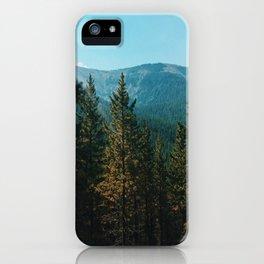 let's mountain adventure/ jasper, canada iPhone Case