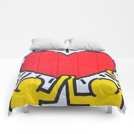 Keith Haring Comforters