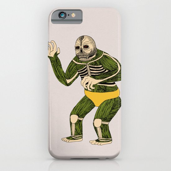 The Original Glowing Skull iPhone & iPod Case