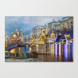 Saint Petersburg Canvas Print