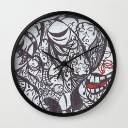 Faces Wall Clock
