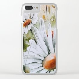 Countryside Summer Clear iPhone Case