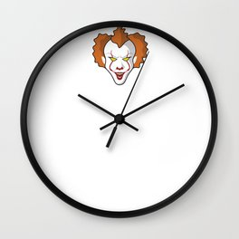 Pennywise's  Head Wall Clock