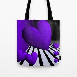 go violet -13- Tote Bag