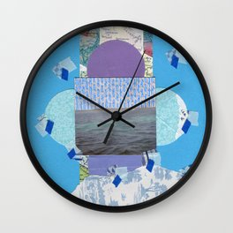 Looking For A Place Wall Clock