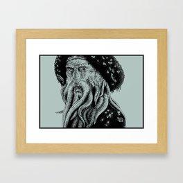 Do You Fear Death? Framed Art Print