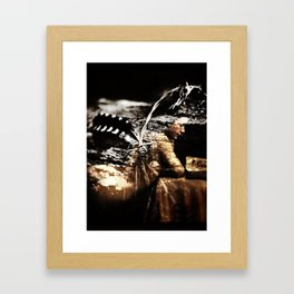 Dreams of Wings Framed Art Print