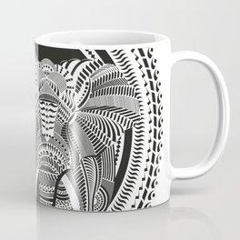 Calligraphic Elephant Coffee Mug