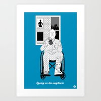 Alfred #4(Cameo One Shot) Art Print