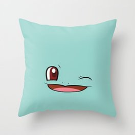 Winky Squirt Throw Pillow