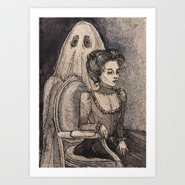 Mourning Light Art Print