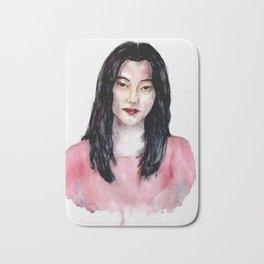 Korean girl Bath Mat