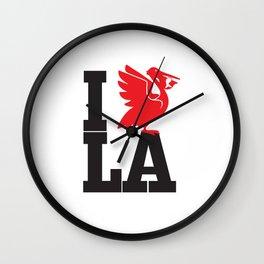 I HEART LA Wall Clock