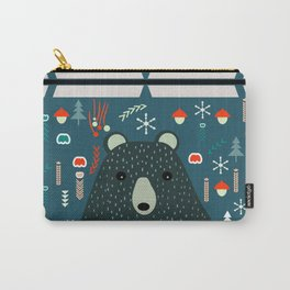 Bear Christmas decoration Carry-All Pouch
