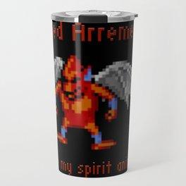 Red Arremers Are My Spirit Animal Travel Mug