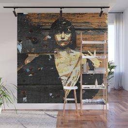 Wood /Grunge Textured (Gloria)  Wall Mural