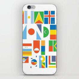 What A Wonderful World II iPhone Skin