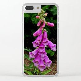 Spanish Bluebells Clear iPhone Case