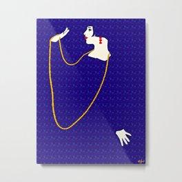 Femme Fatale c 1920 Born To Be Fabulous Metal Print