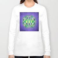 globe Long Sleeve T-shirts featuring globe by Katilinova