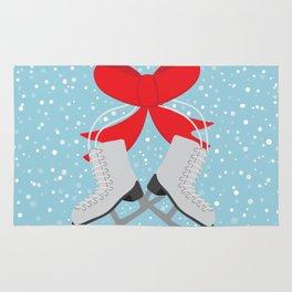 Winter Skates Rug