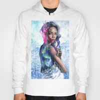 northern lights Hoodies featuring Northern Lights by Tanya Shatseva