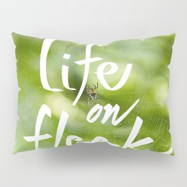 Life on Fleek - Spider Web in Woods Pillow Sham