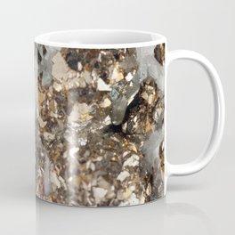 Pyrite and Quartz Coffee Mug