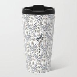 Goyard White Travel Mug