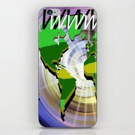 Kontinentales. iPhone Skin