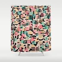 depeche mode Shower Curtains featuring blending mode by spinL