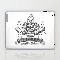 Crazy Clown Laptop & iPad Skin