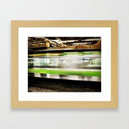 JR Train.  Framed Art Print