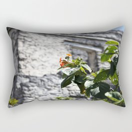 Touch of color in Tulum Rectangular Pillow
