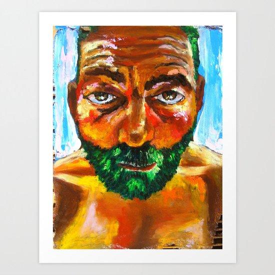 Le Frelon Étendard Art Print