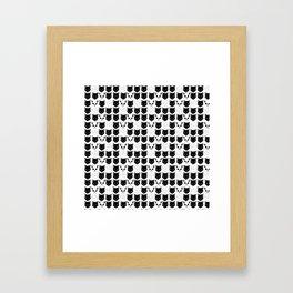 Schrodinger's Cat Print Framed Art Print