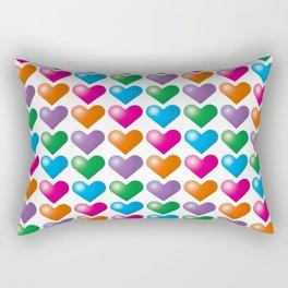 Hearts_B01 Rectangular Pillow