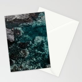 Summer boat and adventure Stationery Cards
