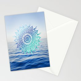 Sea Mandalla Stationery Cards