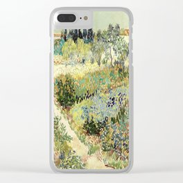 Vincent Van Gogh : Garden at Arles Clear iPhone Case