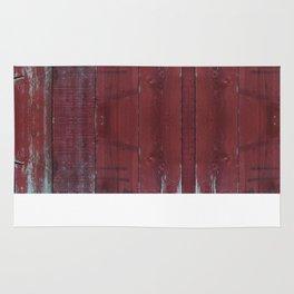 Red Wood Rug