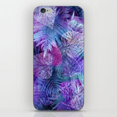Forest Flora 3 iPhone & iPod Skin