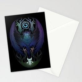 Kuro's Embrace Stationery Cards